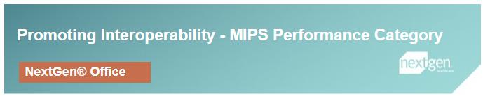 NextGen office MIPS