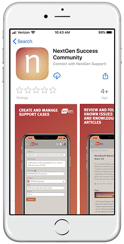 NextGen Office mobile app
